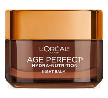 Image 2 du produit L'Oréal Paris - Age Perfect Hydra-Nutrition crème de nuit ultra-nourrissante, pour peau mature et très sèche, anti-âge, 50 ml, miel de manuka + huiles précieuses