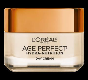 Image 2 du produit L'Oréal Paris - Age Perfect Hydra-Nutrition crème de jour ultra-nourrissante, pour peau mature et très sèche, anti-âge, 50 ml, miel de manuka + huiles précieuses