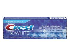 Image du produit Crest - 3D White dentifrice blanchissant, 75 ml, fraîcheur arctique