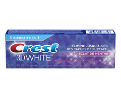Image du produit Crest - 3D White dentifrice blanchissant, 75 ml, éclat de menthe