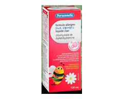 Image du produit Personnelle - Formule allergies pour enfants, 120 ml, gomme balloune