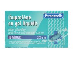 Image du produit Personnelle - Ibuprofène en gel liquide, 16 unités
