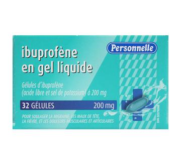 Image du produit Personnelle - Ibuprofène en gel liquide, 32 unités