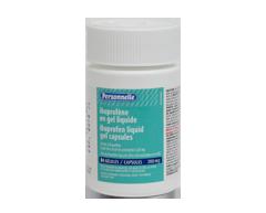 Image du produit Personnelle - Ibuprofène en gel liquide 200 mg, 84 unités