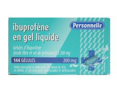 Image du produit Personnelle - Ibuprofène en gel liquide, 144 unités