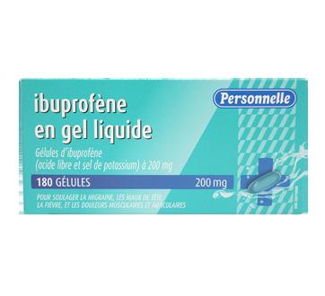 Image du produit Personnelle - Ibuprofène en gel liquide, 180 unités
