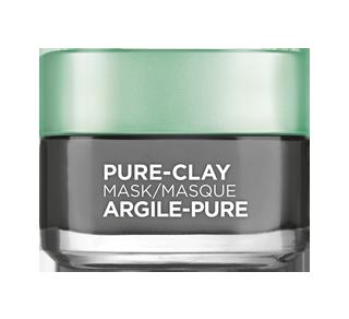 Pure-Clay masque nettoyant avec 3 argiles minérales + charbon, 50 ml