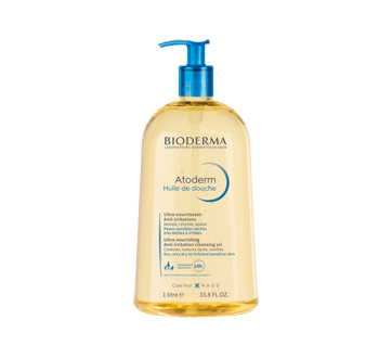 atoderm huile de douche 1 l bioderma huile de bain jean coutu. Black Bedroom Furniture Sets. Home Design Ideas