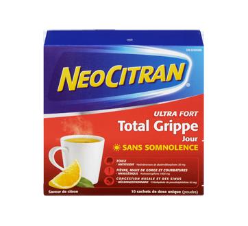 Image 1 du produit Neocitran - Neocitran Total Grippe ultra fort formule jour, 10 unités, citron