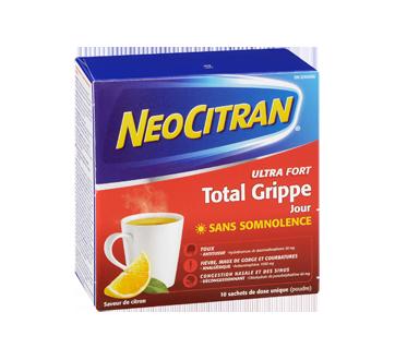 Image 2 du produit Neocitran - Neocitran Total Grippe ultra fort formule jour, 10 unités, citron