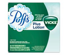 Image du produit Puffs - Plus Lotion avec Vicks papiers mouchoirs, 48 unités
