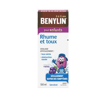 Image du produit Benylin - Benylin Rhume et Toux sirop pour enfants, 100 ml, raisin