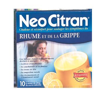 Image du produit Neocitran - NeoCitran rhume et grippe, 10 unités, citron
