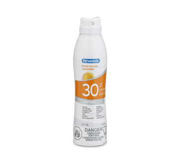 Écran solaire FPS 30 sport, 177 ml, Parfum frais