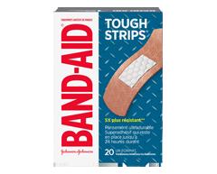 Image du produit Band-Aid - Tough-Strips pansements adhésifs, 20 unités