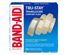 Image du produit Band-Aid - Comfort-Flex pansements adhésifs en plastique paquet familial, 60 unités