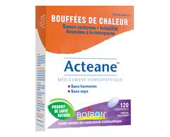 Image du produit Boiron - Acteane médicament homéopathique bouffées de chaleur, 120 comprimés