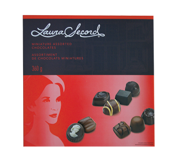 Assortiment de chocolats miniatures, 360 g