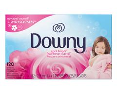 Image du produit Downy - Feuilles assouplissantes, 120 unités, Fraîcheur d'avril