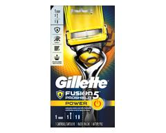 Image du produit Gillette - Fusion5 rasoir pour hommes ProShield Power, 1 unité