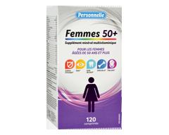 Image du produit Personnelle - Supplément minéral multivitaminique pour femmes 50+, 120 unités