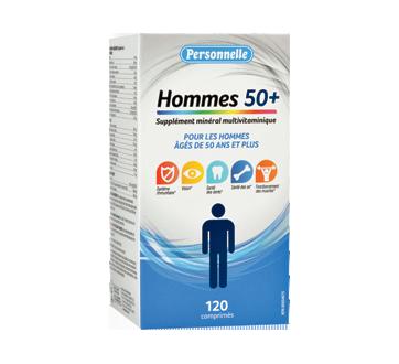 Image du produit Personnelle - Supplément minéral multivitaminique pour hommes 50+, 120 unités
