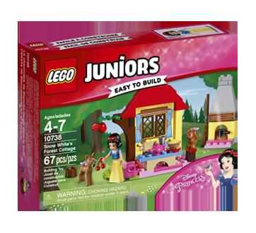 Lego Juniors chaumière de Blanche-Neige dans la forêt, 1 unité