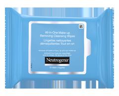 Image du produit Neutrogena - Lingettes nettoyantes démaquillantes tout-en-un, 25 unités