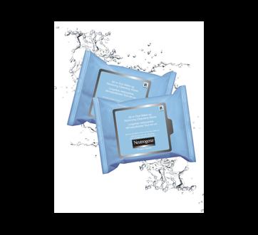 Image 2 du produit Neutrogena - Lingettes nettoyantes démaquillantes tout-en-un, 25 unités