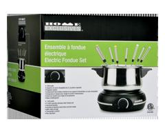 Image du produit Home Exclusives - Ensemble à fondue électrique, 1 unité