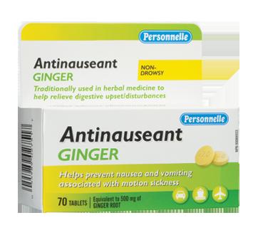 Image 1 du produit Personnelle - Antinausée gingembre, 70 unités