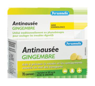Image 2 du produit Personnelle - Antinausée gingembre, 70 unités