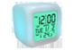 Vignette du produit eLink - Horloge réveil numérique avec changement de couleurs, 1 unité