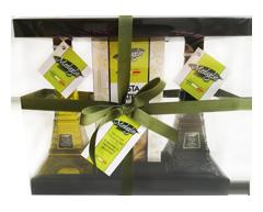 Image du produit Medaglio - Ensemble Tour Eiffel huile et vinaigre pour pâtes et trempette gourmet, 3 unités