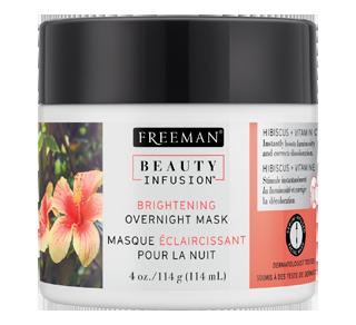 Masque éclaircissant pour la nuit hibiscus et vitamine C, 114 g, hibiscus et vitamine C