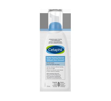 Image 1 du produit Cetaphil - Nettoyant doux moussant, 236 ml