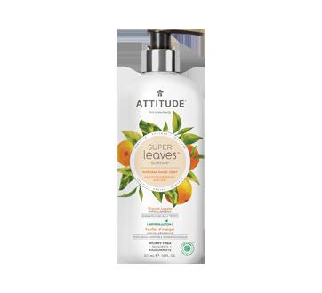 Super Leaves savon pour les mains naturel, 473 ml, feuilles d'oranger