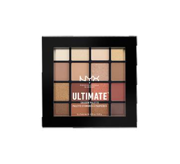 Image 2 du produit NYX Professional Makeup - Palette d'ombres à paupières Ultimate, 13,28 g, Warm Neutrals