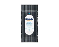 Image du produit Cottonelle - Débarbouillettes jetables dans les toilettes format voyage, 10 unités