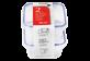 Vignette du produit Home Exclusives - Contenants pour aliments avec couvercles, 280 ml, 2 unités