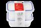 Vignette du produit Home Exclusives - Contenants pour aliments avec couvercles, 250 ml, 2 unités