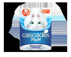 Image du produit Cascades - Fluff résistant papier hygiénique, 12 unités