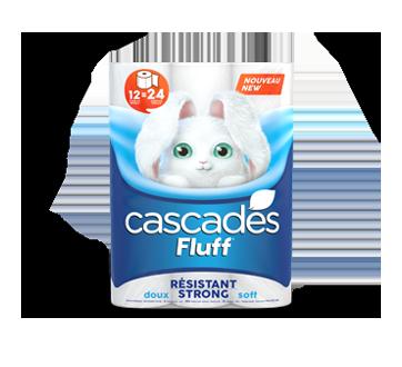 Fluff résistant papier hygiénique, 12 unités