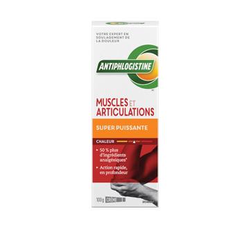 Image du produit Antiphlogistine - Crème chaleur super puissante, 100 g