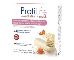 Image du produit ProtiLife - Gauffrette protéinée, 5 unités, beurre d'érable