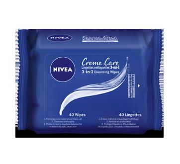 Crème Care lingettes nettoyantes, 40 unités