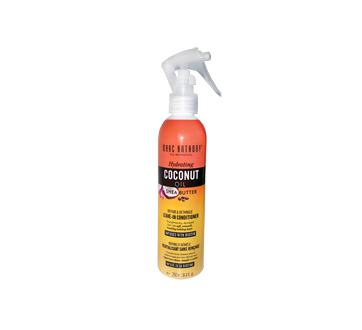 Hydrating Coconut Oil & Shea Butter vaporisateur démêlant sans rinçage, 250 ml