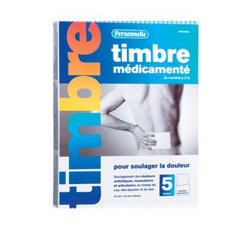 Image du produit Personnelle - Timbre médicamenté, 5 unités