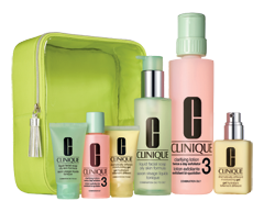 Image du produit Clinique - Great Skin Home and Away coffret, 4 unités, peau grasse