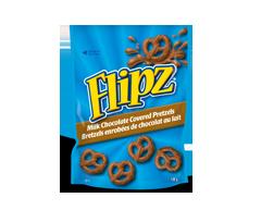 Image du produit Flipz - Bretzels enrobées de chocolat au lait, 120 g